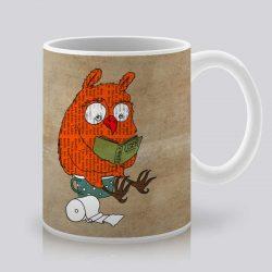 Сутрешната чаша кафе или чай става още по-приятна, с дизайнерската ни керамична чаша с щампа Идилия.