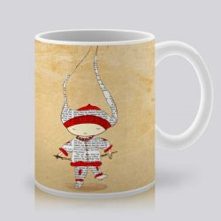 Сутрешната чаша кафе или чай става още по-приятна, с дизайнерската ни керамична чаша с щампа Лека нощ.