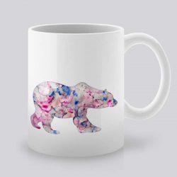 Сутрешната чаша кафе или чай става още по-приятна, с дизайнерската ни керамична чаша с щампа Полярна мечка.