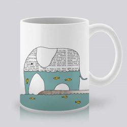 Сутрешната чаша кафе или чай става още по-приятна, с дизайнерската ни керамична чаша с щампа Аквариум.