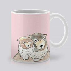 Сутрешната чаша кафе или чай става още по-приятна, с дизайнерската ни керамична чаша с щампа Близо.