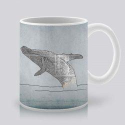 Сутрешната чаша кафе или чай става още по-приятна, с дизайнерската ни керамична чаша с щампа Кит.