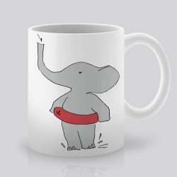 Сутрешната чаша кафе или чай става още по-приятна, с дизайнерската ни керамична чаша с щампа Лято.