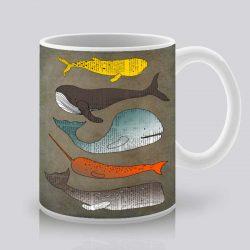 Сутрешната чаша кафе или чай става още по-приятна, с дизайнерската ни керамична чаша с щампа Океан.
