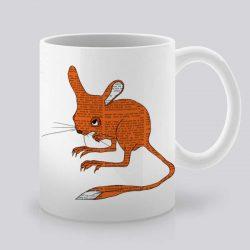 Сутрешната чаша кафе или чай става още по-приятна, с дизайнерската ни керамична чаша с щампа Оранжева мишка.