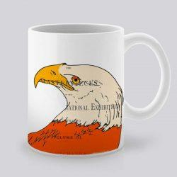 Сутрешната чаша кафе или чай става още по-приятна, с дизайнерската ни керамична чаша с щампа Орел.