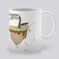 Сутрешната чаша кафе или чай става още по-приятна, с дизайнерската ни керамична чаша с щампа Отминали моменти.