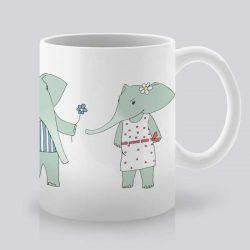 Сутрешната чаша кафе или чай става още по-приятна, с дизайнерската ни керамична чаша с щампа Свалка.