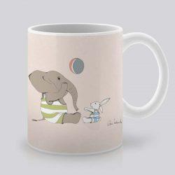 Сутрешната чаша кафе или чай става още по-приятна, с дизайнерската ни керамична чаша с щампа Волейбол.