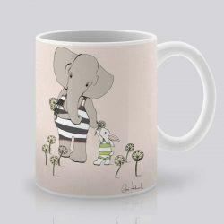Сутрешната чаша кафе или чай става още по-приятна, с дизайнерската ни керамична чаша с щампа Желания.