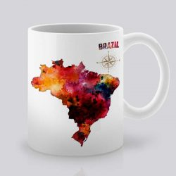 Сутрешната чаша кафе или чай става още по-приятна, с дизайнерската ни керамична чаша с щампа