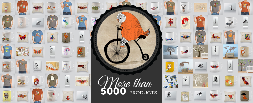 More than 5000 products