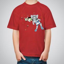 Тениски с принт за деца