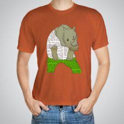 Мъжка тениска Зелени дънки e изработена от висококачествен памук с ярки цветове и прецизен детайл – сякаш някой е рисувал с четка и бои върху плата.