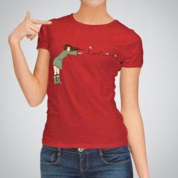 Дамска тениска Любов Във Въздуха е изработена от висококачествен памук и последно поколение технология на печат. Ярки цветове и прецизен детайл – сякаш някой е рисувал с четка и бои върху плата.