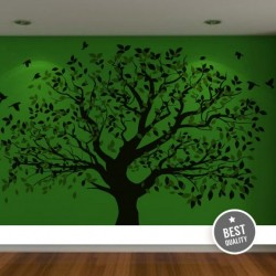 стикер за детска стая дърво