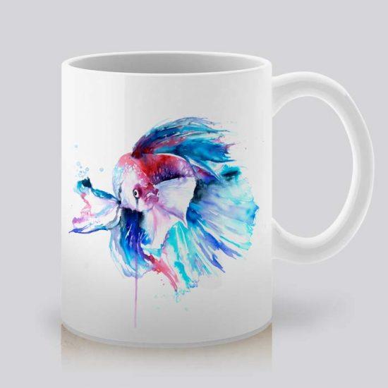 Сутрешната чаша кафе или чай става още по-приятна, с дизайнерската ни керамична чаша с щампа Бета.
