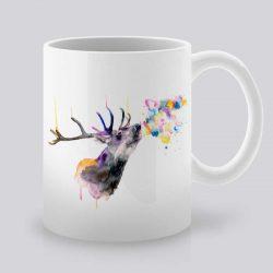 Сутрешната чаша кафе или чай става още по-приятна, с дизайнерската ни керамична чаша с щампа Елен.