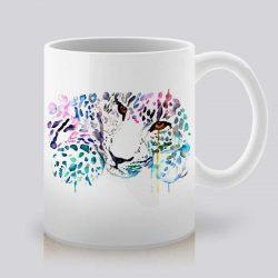 Сутрешната чаша кафе или чай става още по-приятна, с дизайнерската ни керамична чаша с щампа Леопард.