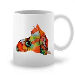 Сутрешната чаша кафе или чай става още по-приятна, с дизайнерската ни керамична чаша с щампа Чихуахуа.