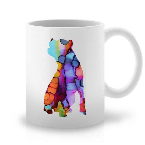 Сутрешната чаша кафе или чай става още по-приятна, с дизайнерската ни керамична чаша с щампа Кане Корсо.