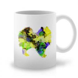 Сутрешната чаша кафе или чай става още по-приятна, с дизайнерската ни керамична чаша с щампа Немски Шпиц.