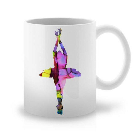 Сутрешната чаша кафе или чай става още по-приятна, с дизайнерската ни керамична чаша с щампа Пирует.