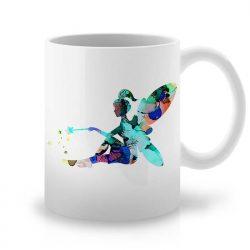 Сутрешната чаша кафе или чай става още по-приятна, с дизайнерската ни керамична чаша с щампа Вълшебна Фея.