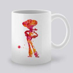 Сутрешната чаша кафе или чай става още по-приятна, с дизайнерската ни керамична чаша с щампа Каубой.