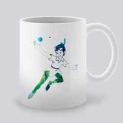 Сутрешната чаша кафе или чай става още по-приятна, с дизайнерската ни керамична чаша с щампа Питър Пан.