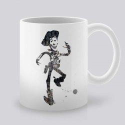 Сутрешната чаша кафе или чай става още по-приятна, с дизайнерската ни керамична чаша с щампа Шериф Уди.