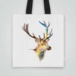 Дизайнерска чанта от плат Чанта от плат Елен се шие индивидуално за вас - лека, сгъваема, разпознаваема дамска чанта или удобна чанта за пазар.