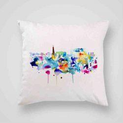 Декоративна калъфка Шарен Град е изработена от качествен текстил в натурален бял цвят, с щампа от едната страна и скрит цип за лесна поддръжка. Калъфката е ушита ръчно и с грижа, печатът е безопасен, с нетоксични мастила и трайни цветове.
