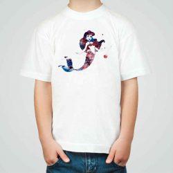 Детска тениска Ариел е изработена от висококачествен памук и последно поколение технология на печат. Можете да изберете тениска с принт по ваш вкус от от различните ни тематични серии.