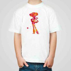 Детска тениска Каубой е изработена от висококачествен памук и последно поколение технология на печат. Можете да изберете тениска с принт по ваш вкус от от различните ни тематични серии.