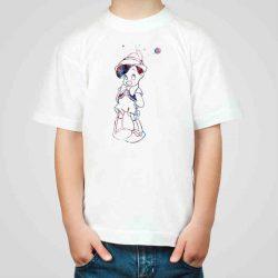 Детска тениска Пинокио е изработена от висококачествен памук и последно поколение технология на печат. Можете да изберете тениска с принт по ваш вкус от от различните ни тематични серии.