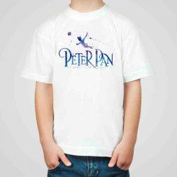 Детска тениска Питър Пан 2 е изработена от висококачествен памук и последно поколение технология на печат. Можете да изберете тениска с принт по ваш вкус от от различните ни тематични серии.