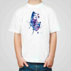 Детска тениска Рибка е изработена от висококачествен памук и последно поколение технология на печат. Можете да изберете тениска с принт по ваш вкус от от различните ни тематични серии.