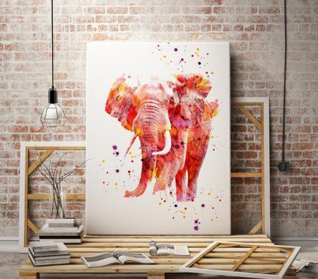 Арт принт Слон