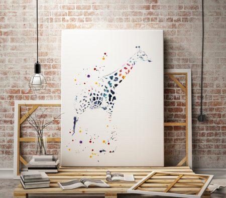 Арт принт Жираф