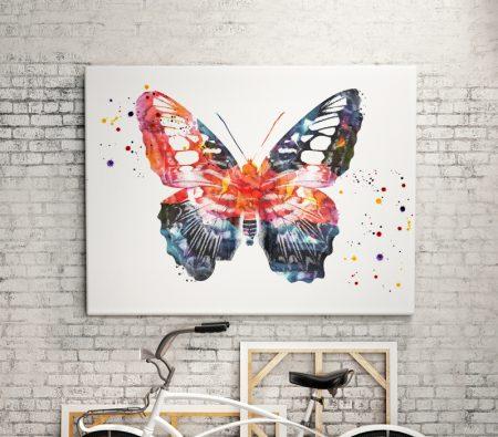 Принт Нежна пеперуда