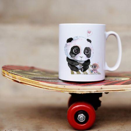 Чаша Влюбена панда