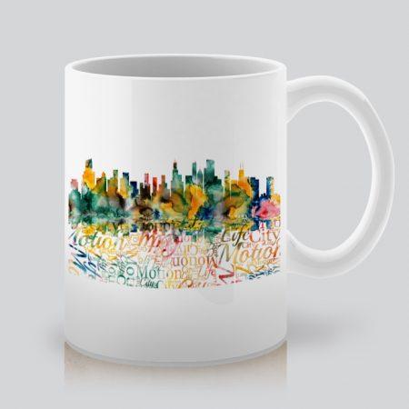 Арт чаша с щампа пейзаж