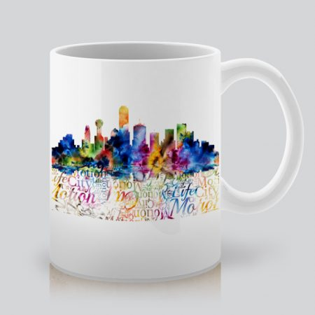 Чаша с щампа гледка