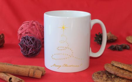 Чаша Коледни светлини