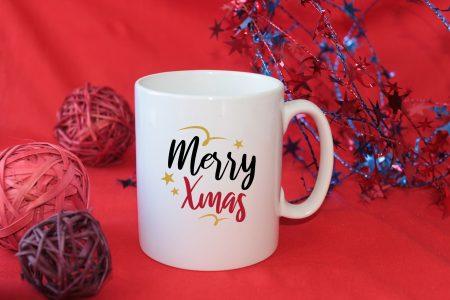 Коледна чаша Merry Xmas
