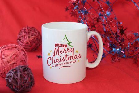 IКоледна чаша Merry Christmas
